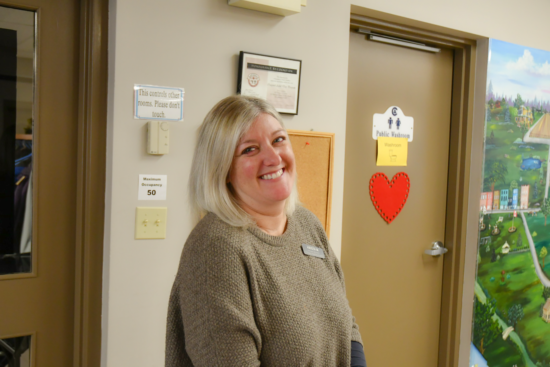 Always smiling Day Program Staff